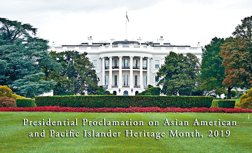 特朗普簽署「亞太裔經濟賦權」行政令,幫助亞太裔獲得更多經濟資源及機會。 網上圖片
