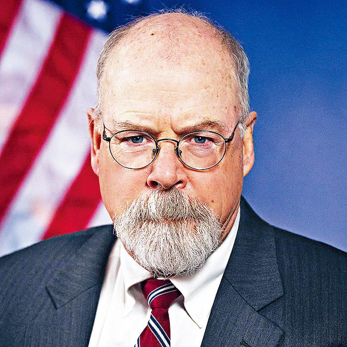 司法部長巴爾指派康州聯邦檢察官德拉姆(John Durham,圖)