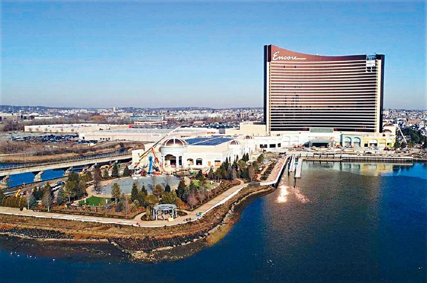即將開業的波士頓海港賭場及度假村。