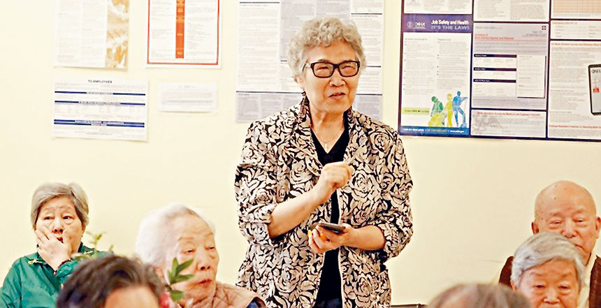 耆老們踴躍發言,分享各自經驗。