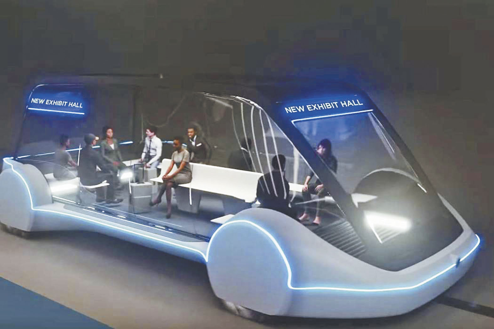 拉斯維加斯會議中心下面將打造地底大眾運輸系統。The Boring Company