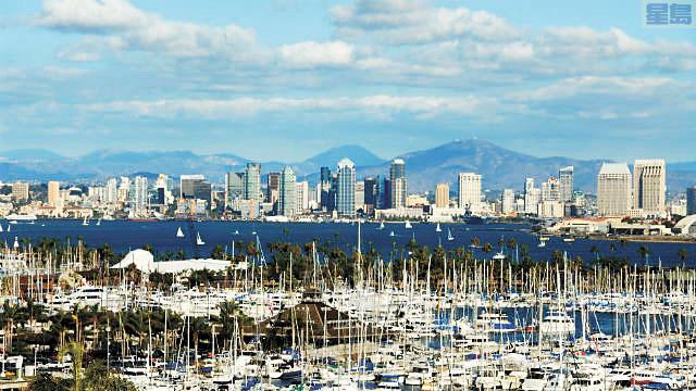 聖地牙哥市在全美人口增加最快速的城市排行第八。聖地牙哥港務局照片