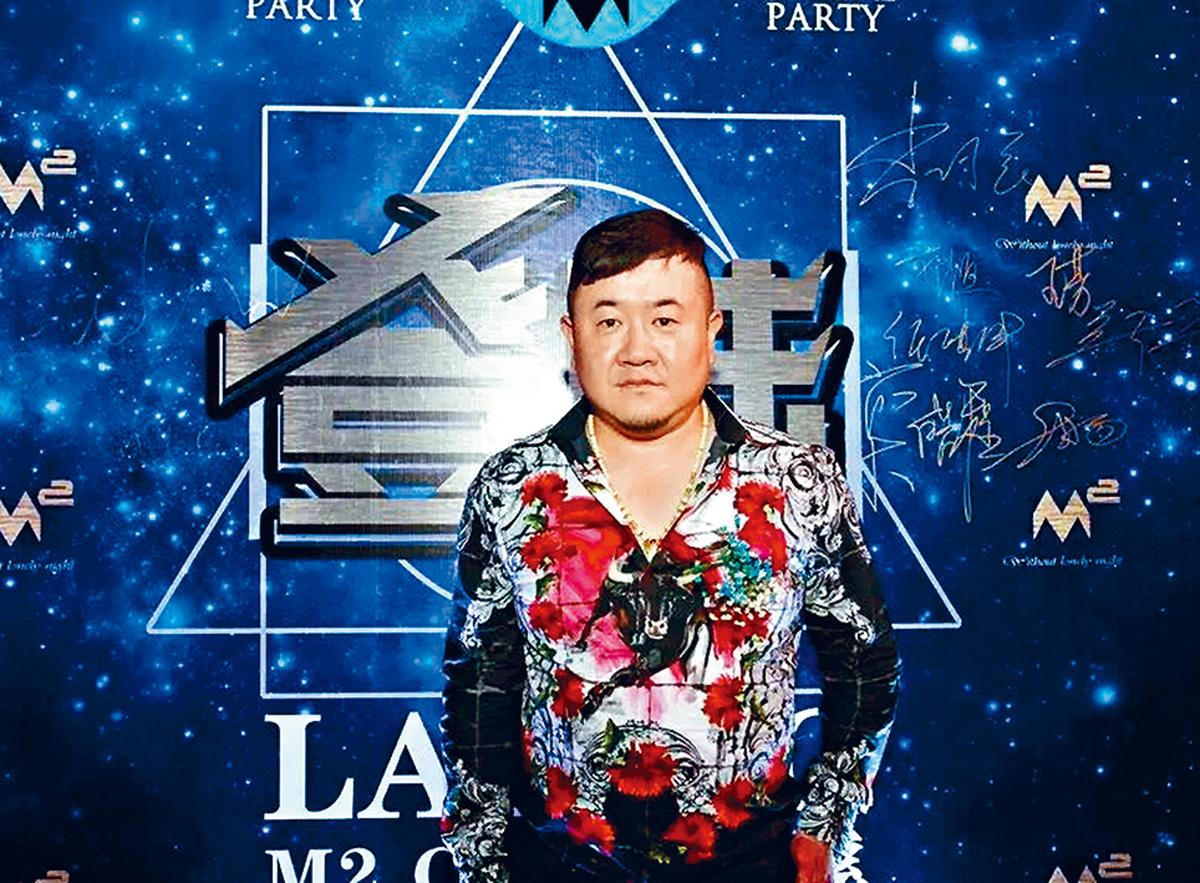 昆明惡霸孫小果近年經營夜店風生水起。網上圖片