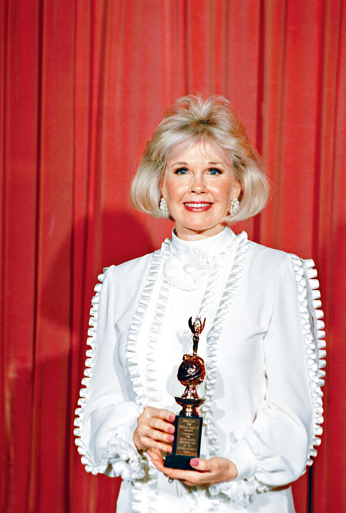 ■桃麗絲黛於1989年獲金球獎Cecil B. DeMille成就獎。