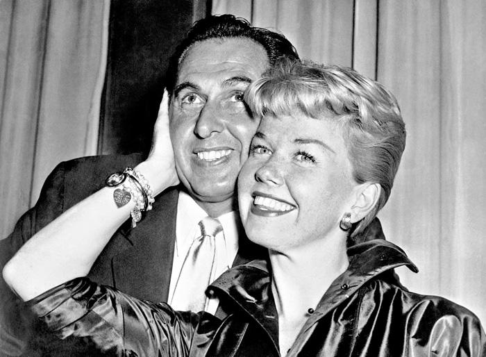 ■桃麗絲於1951年嫁給經理人Martin Melcher。