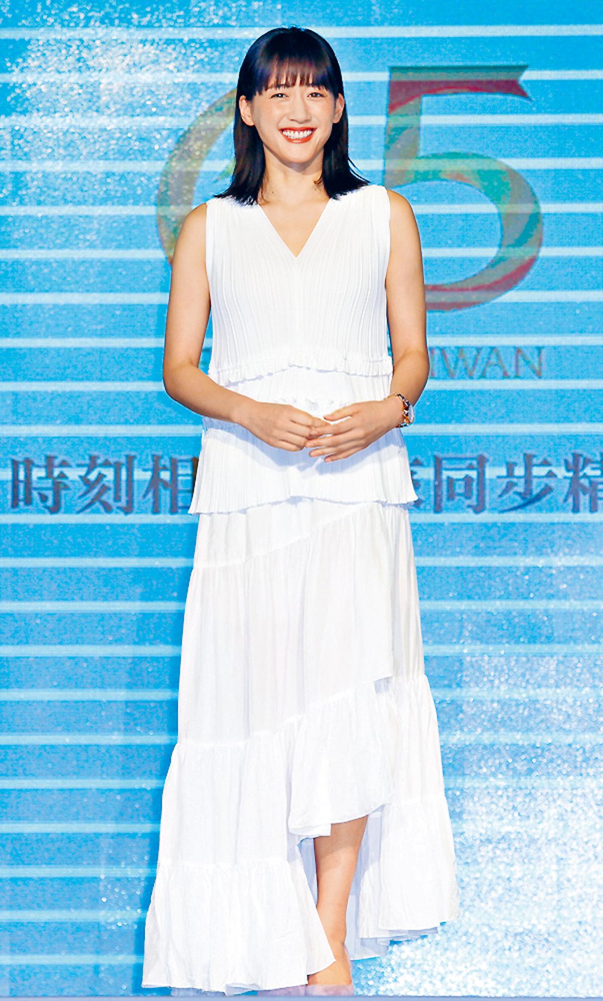 ■人氣高企的綾瀨遙成最喜愛女星。