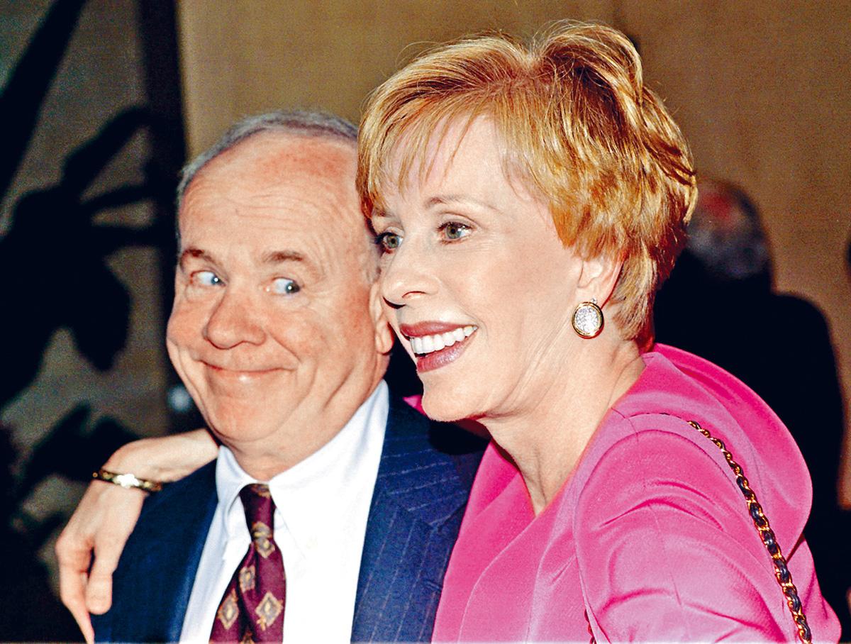 ■諧星Tim Conway周二病逝,拍檔Carol表示心碎。(資料圖片)