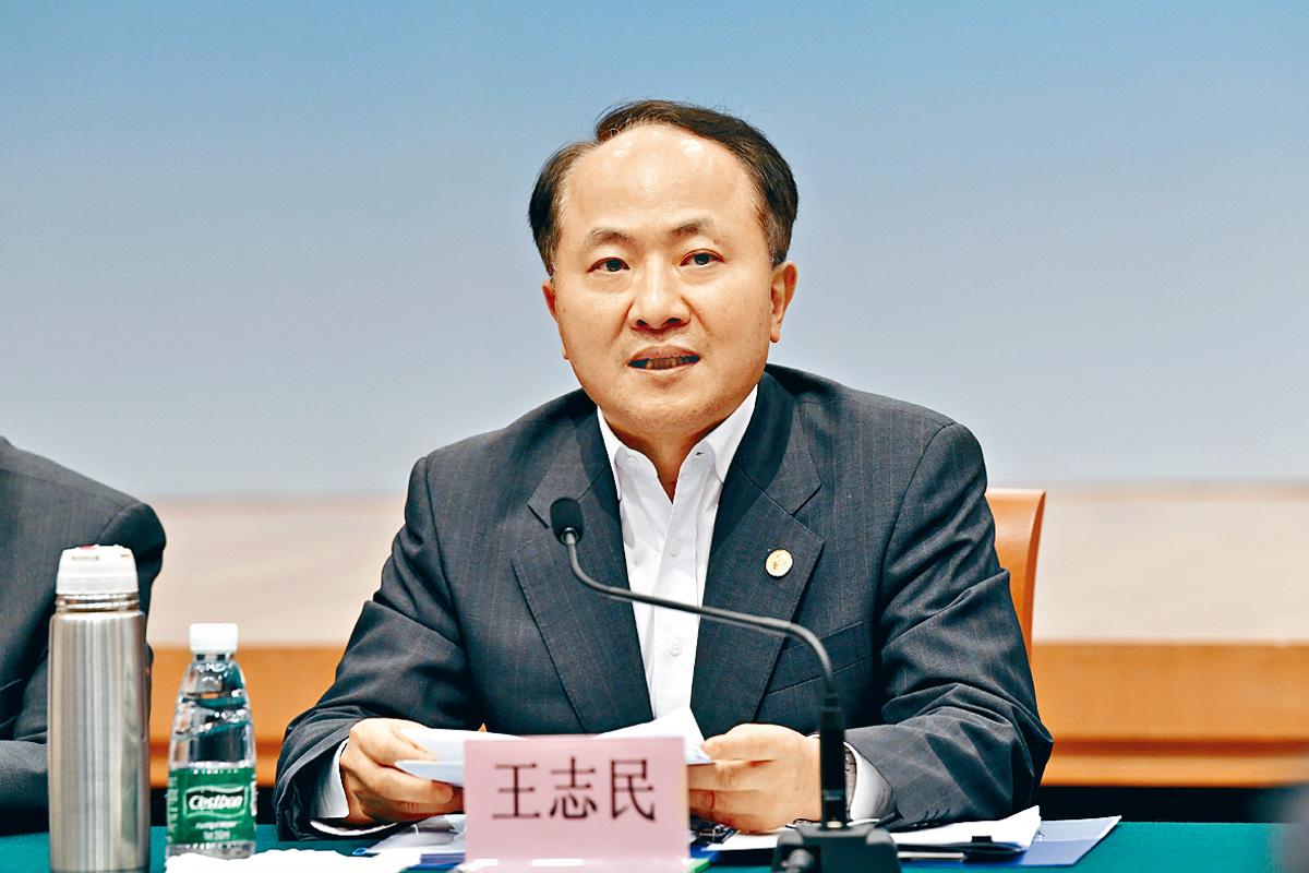 王志文日前主持會議,會議提及修訂《逃犯條例》的建議,是「既有法理依據又有現實逼切需要」。
