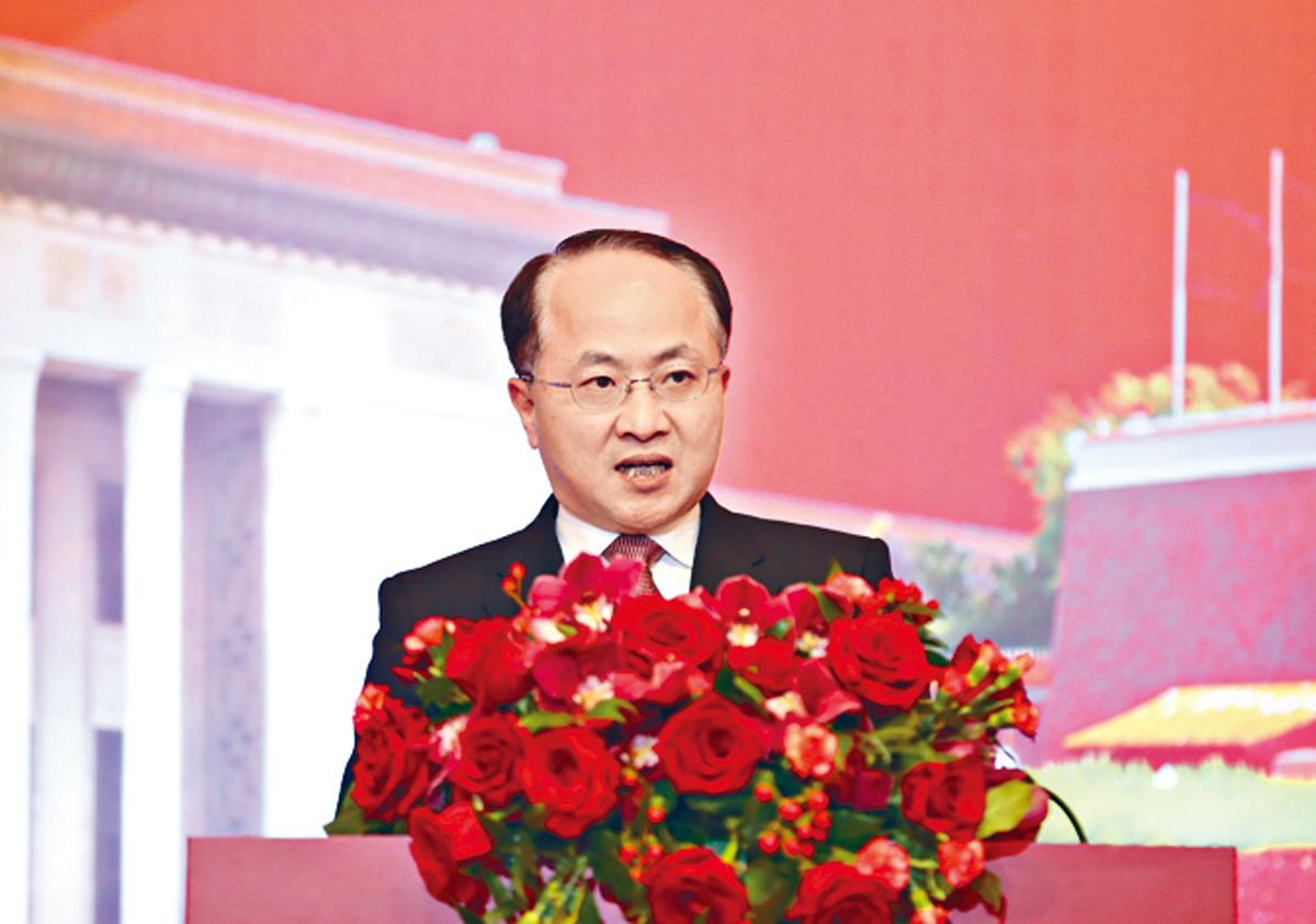 中聯辦主任王志民。資料圖片