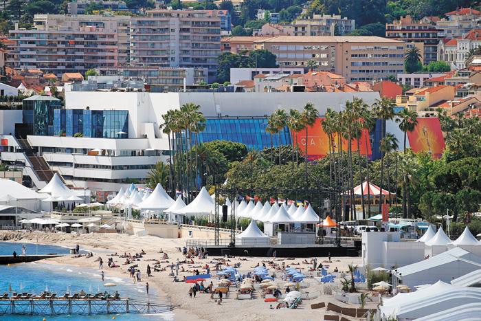 法國康城影展登場,當地餐旅住宿業者迎來新一波賺錢商機。路透社