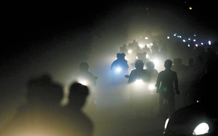 新德里是空氣污染最嚴重的城市之一。美聯社