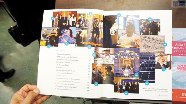 新書《Mayor Lee & the City He Loved》的內容。