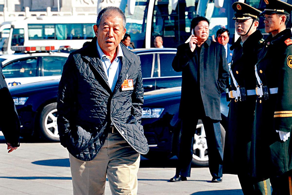 中信集團前董事長王軍10日在廣州逝世。 資料圖片