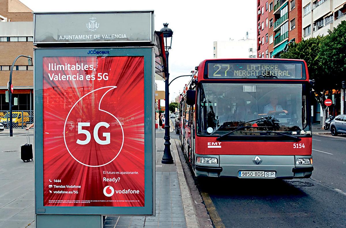 西班牙日前宣布開通5G網絡,堅持使用華為設備。資料圖片