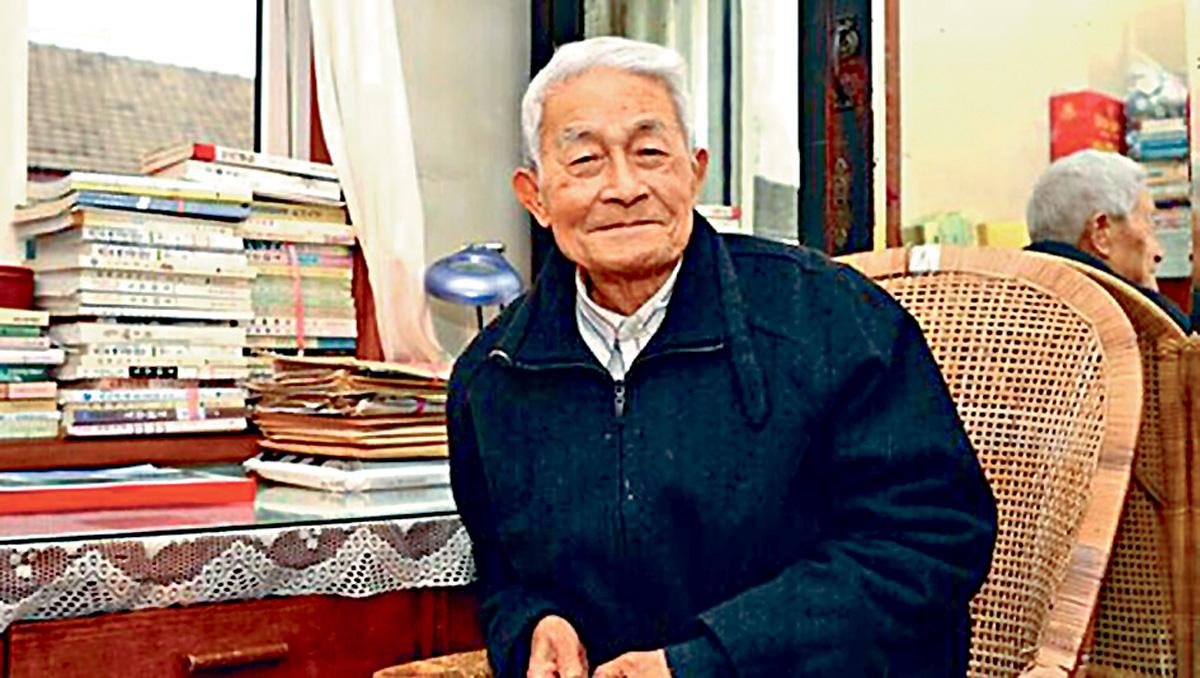 文學界泰斗、華東師範大學中文系終身教授徐中玉(圖)