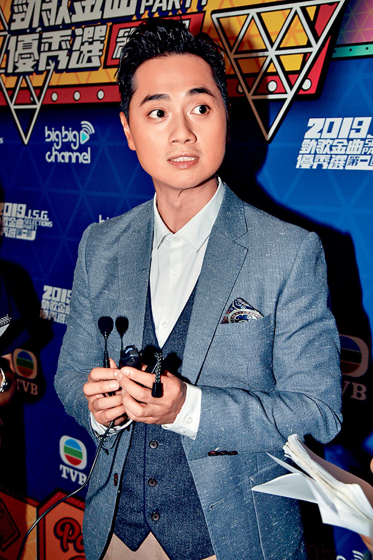 ■鄭俊弘已完成他的《法證先鋒IV》補拍戲分。