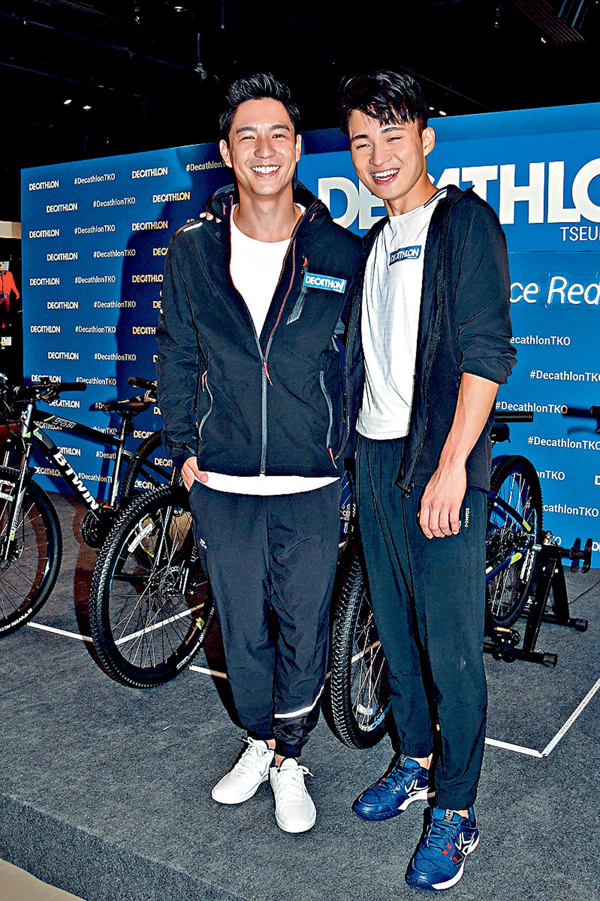 ■周嘉洛與吳偉豪在劇中飾演的廢青安及朱凌凌很受觀眾歡迎。