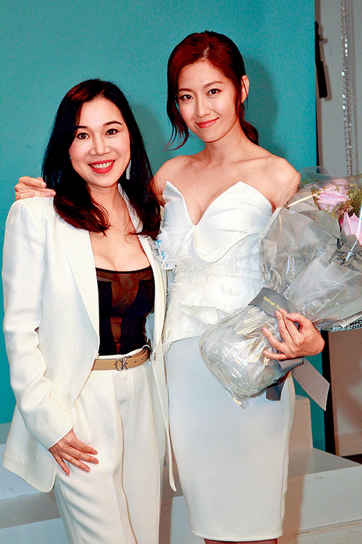 ■品牌老闆建議陳自瑤可升到D級,她亦高興表示OK。
