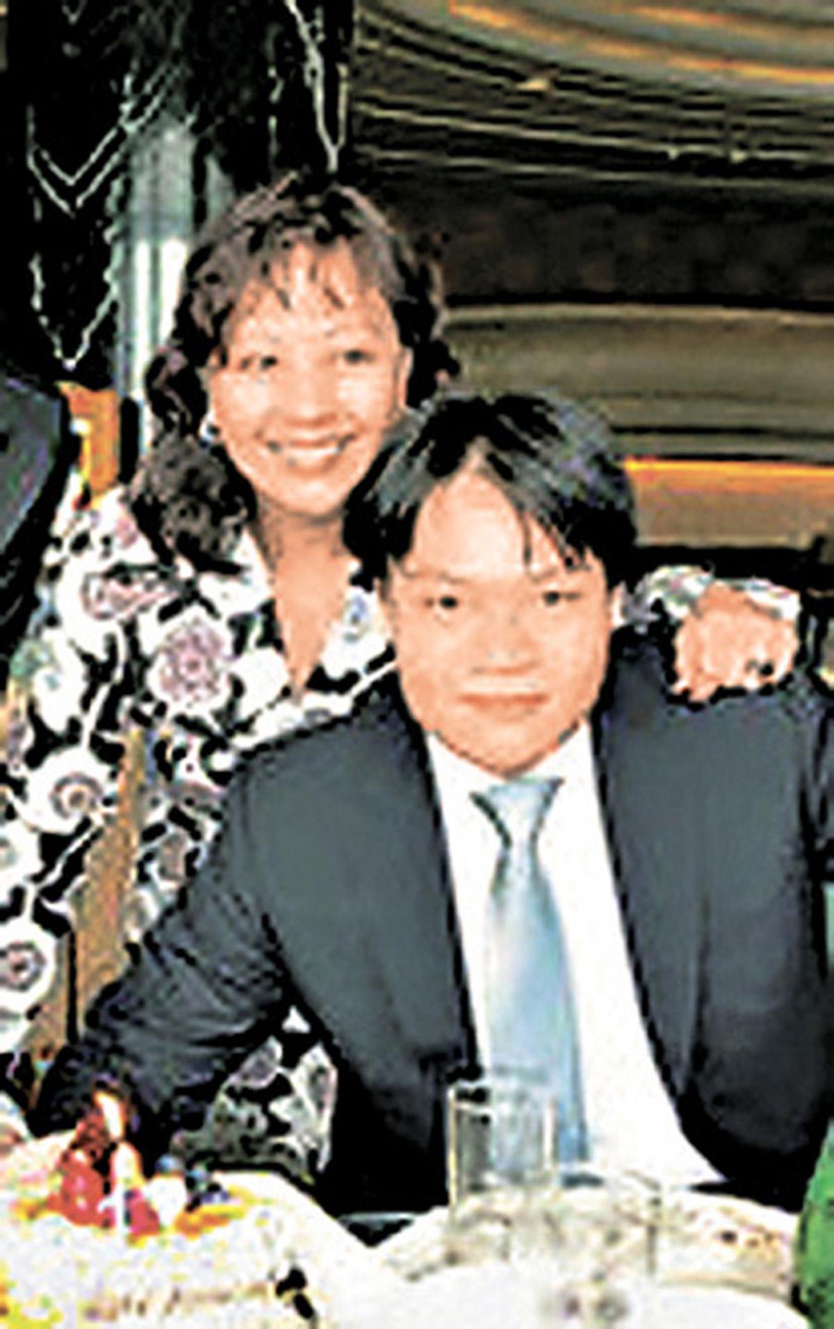 李天穎與兒子郭基俊。