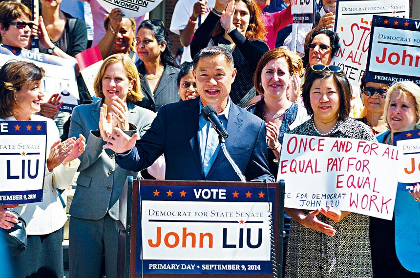 紐約州參議員劉醇逸宣布背書現任皇后區長卡絲競選皇后區檢察官。