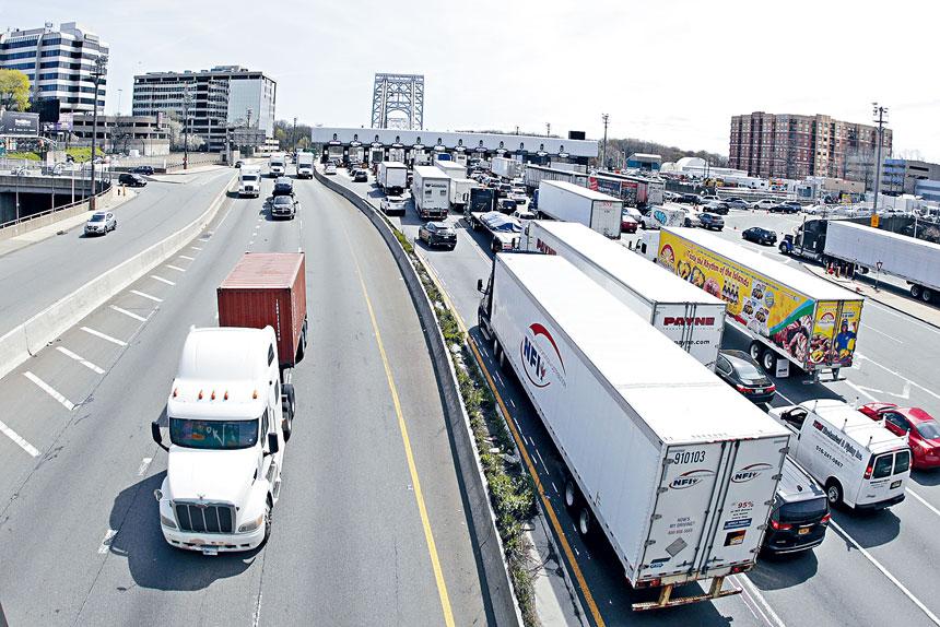 港務局提出計劃,跨哈德遜橋隧加價至13.75元。美聯社