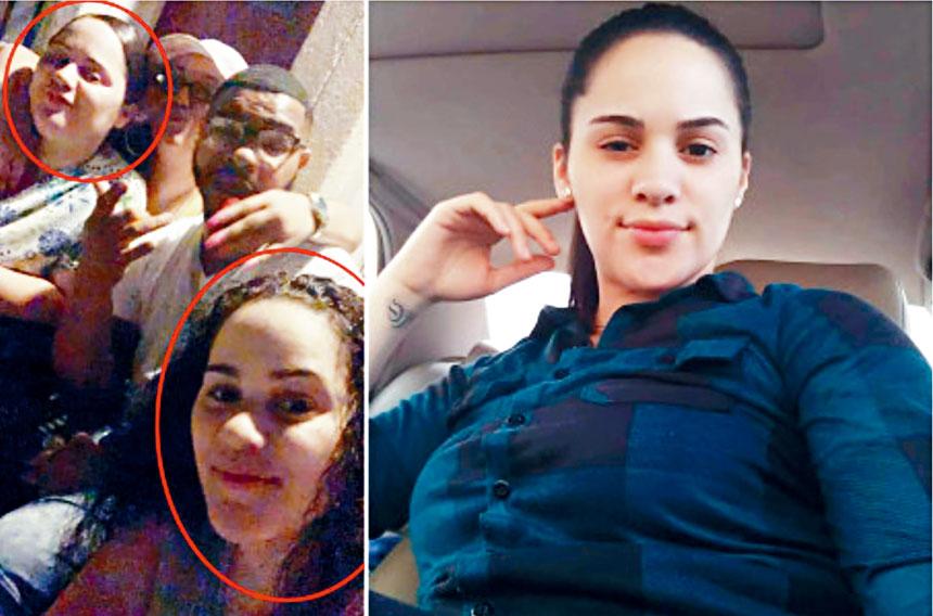 阿曼達.拉米雷斯(左圖左上角)涉嫌殺死安娜.拉米雷斯(左圖右、右圖)。臉書圖片