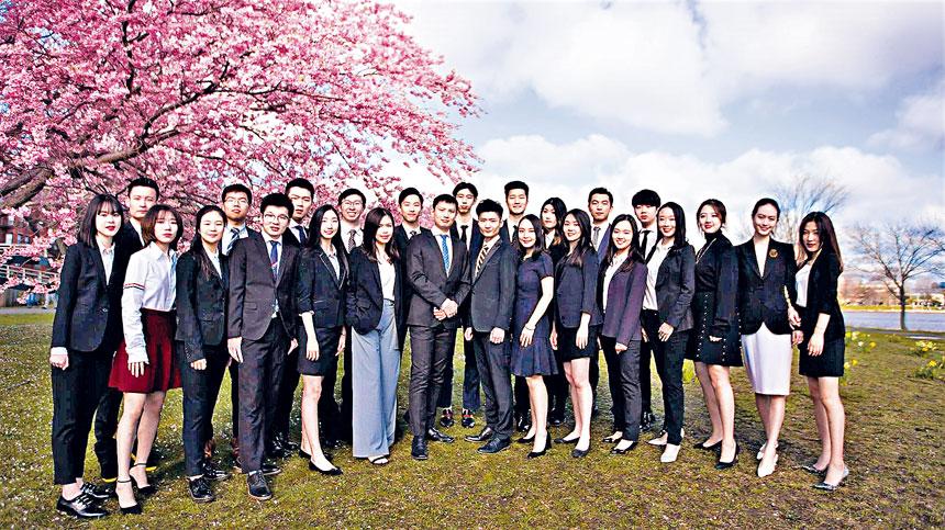 BUCSSA執行團隊成員。檔案圖片