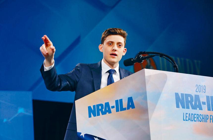 卡舒夫在NRA的會議中發表演講。檔案圖片
