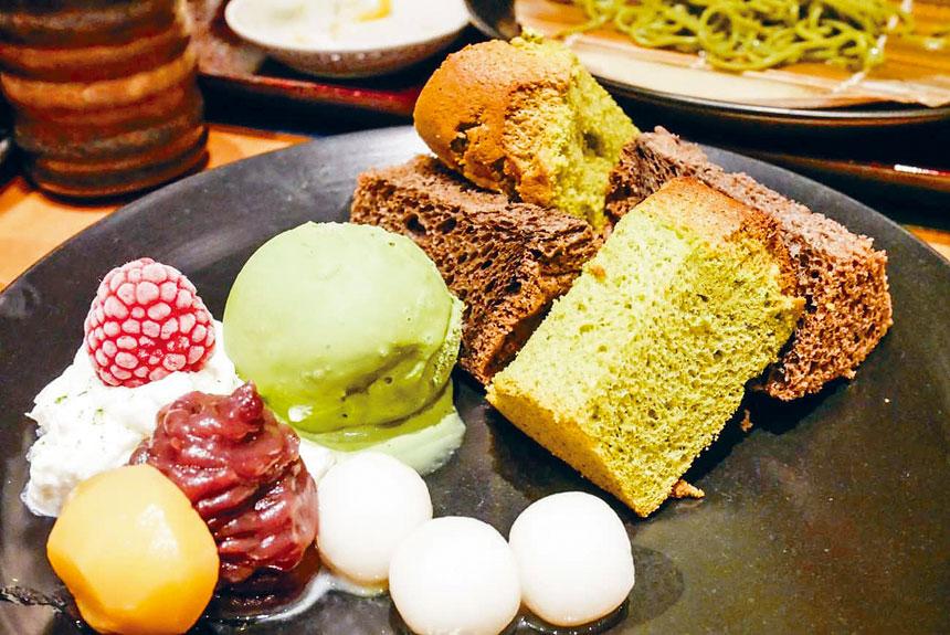 京都抹茶店。