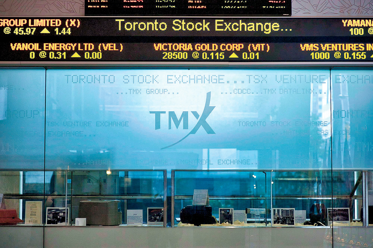 ■多倫多S&P/TSX綜合指數收市16,523.47點,微跌1.96點。 加通社