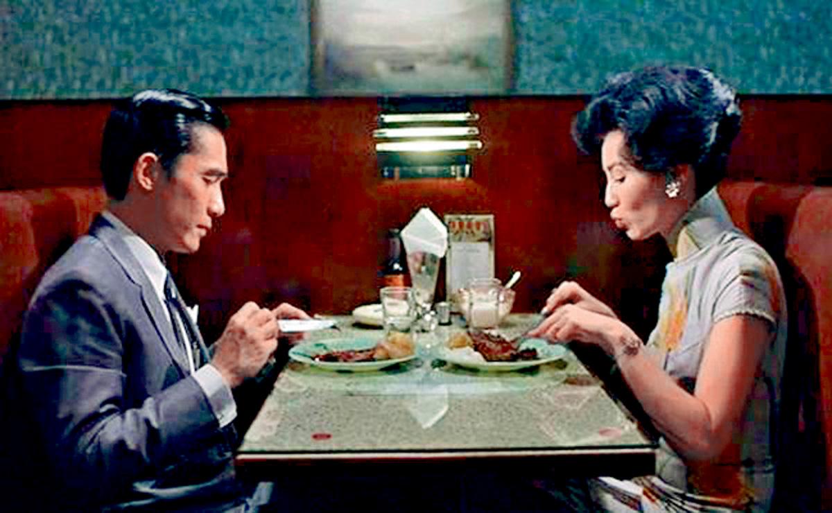 ■張曼玉始終認為梁朝偉是最佳拍檔。(資料圖片)