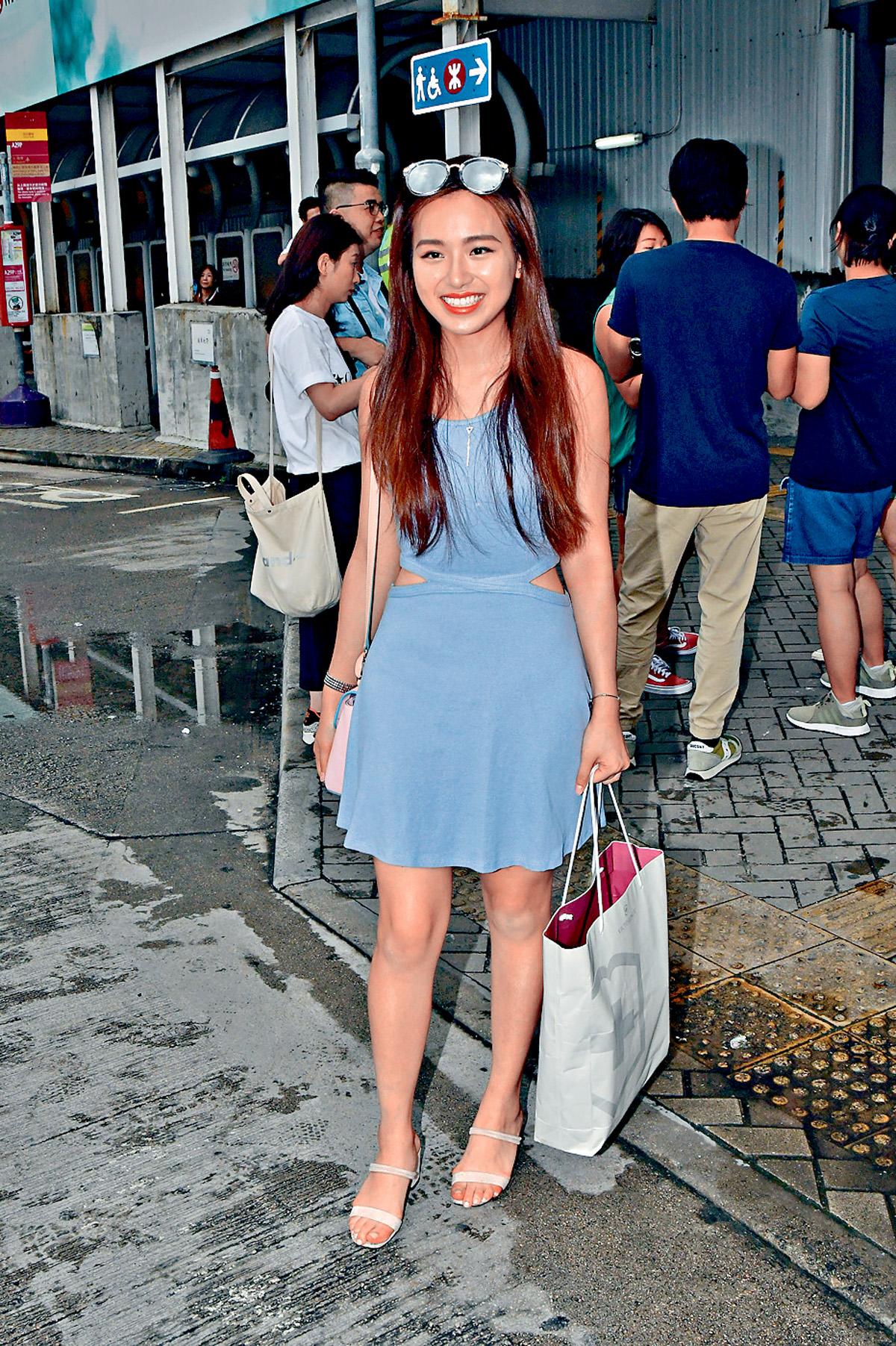 ■范莎莎今年已是第三度參選港姐。