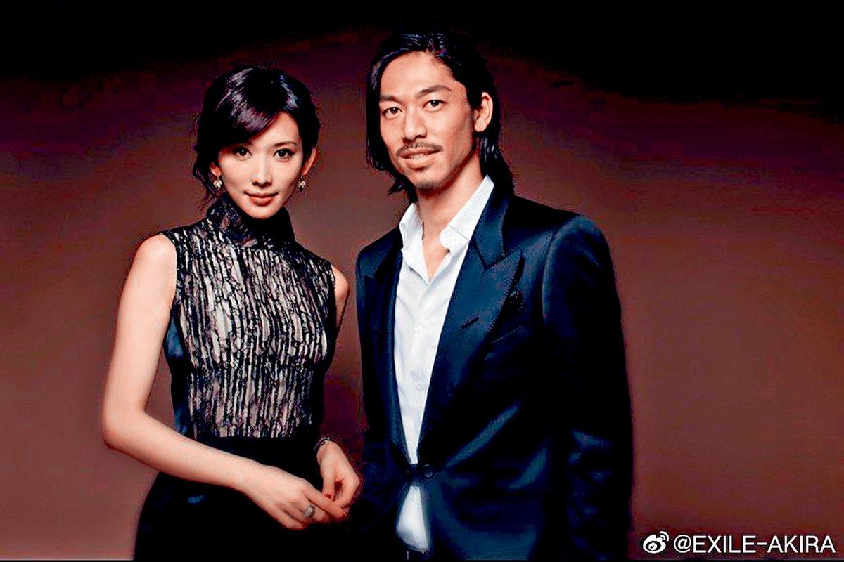 ■林志玲與Akira新婚,仍不忘送花籃祝賀王力宏開騷。 (資料圖片)