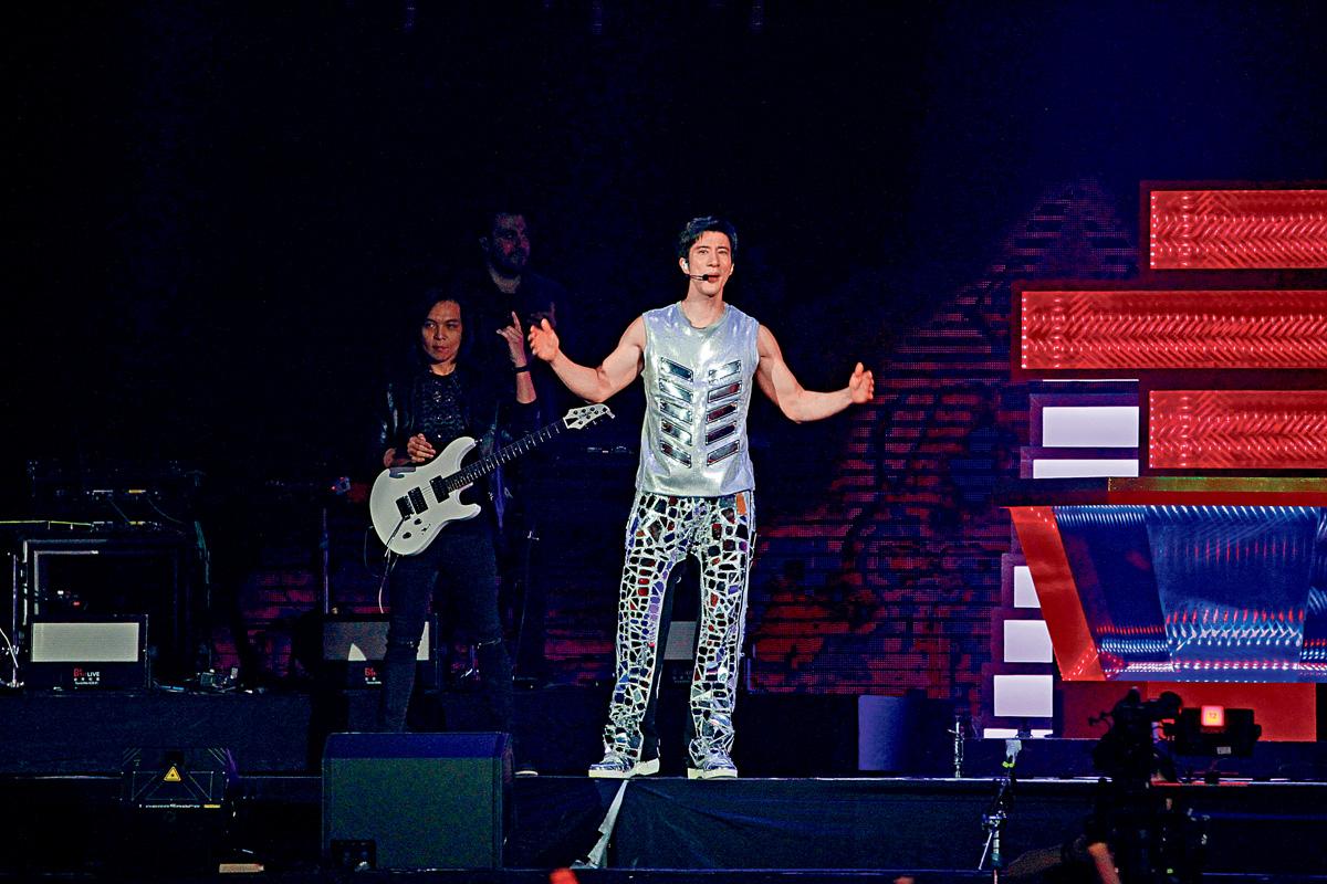 ■王力宏一連兩場的台北演唱會,前晚圓滿落幕。