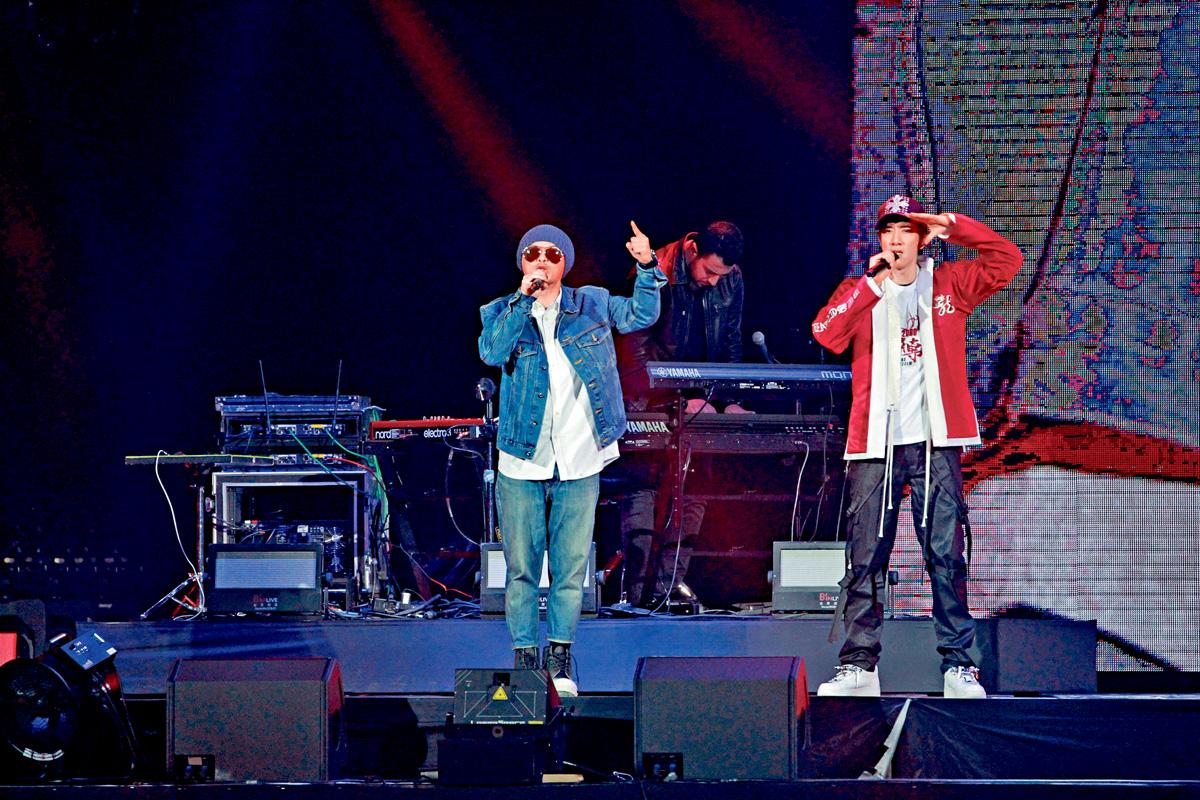■王力宏請來鬼才黃明志擔任演唱會表演嘉賓。