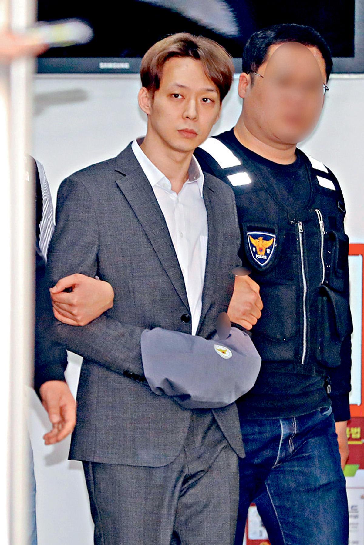 ■朴有天早前亦因涉毒被捕,證韓演藝界被毒品入侵。