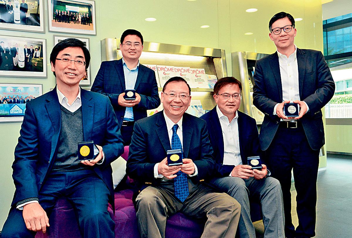 LSCM 物流及供應鏈多元技術研發中心,早前奪日內瓦國際發明展獎項多個獎項。 黃頌偉攝