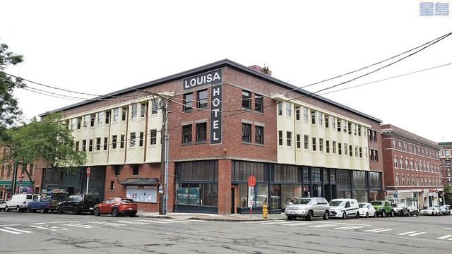 西雅圖華埠「路易莎酒店」變身可負擔大樓。葉希文攝