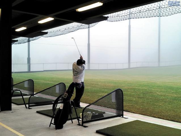 位於西雅圖北區的傑克遜公園高爾夫球場。西雅圖市府