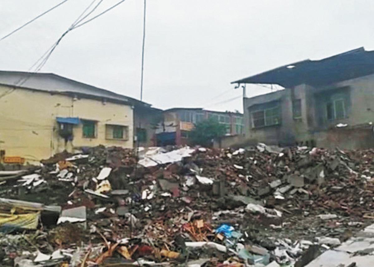 ■該公司附近房屋已經清拆。網上圖片