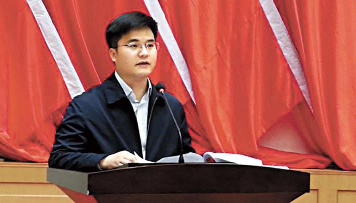 圖為調任為石嘴山市委常委的王正儒。網上圖片