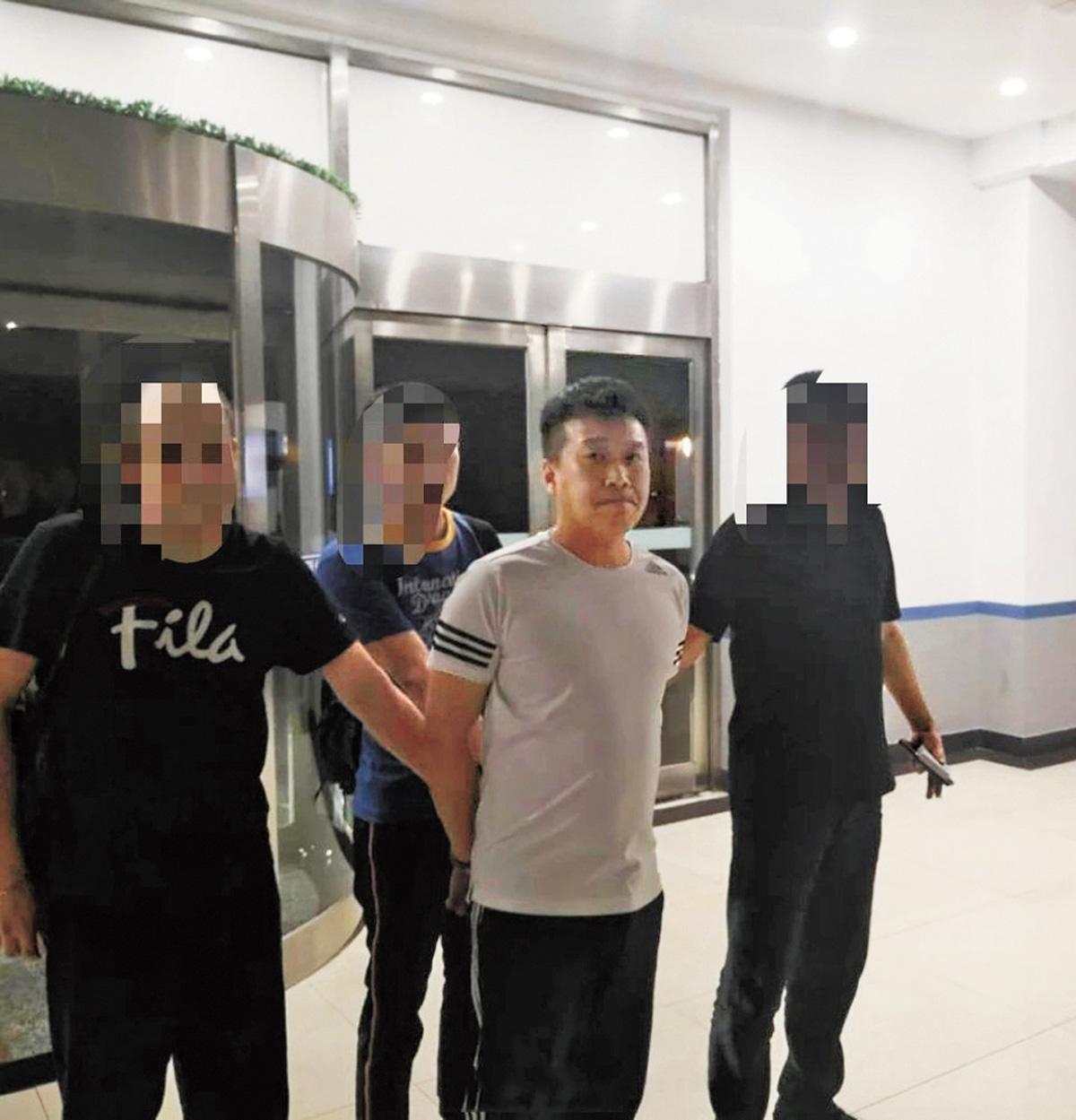 施暴男子已被大連警方抓獲。網上圖片