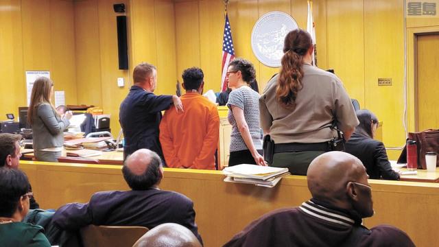 被告阿馬多(Manuel Amador)早前出庭,否認全部控罪。本報資料圖片/記者徐明月攝
