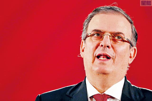 墨西哥外交部長埃布拉德表示,未就偷渡潮與美國達成秘密協議。    路透社