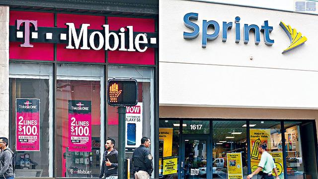 紐約等十個州發起聯合訴訟,希望阻止大型電訊商T-Mobile及Sprint合併,指有關行為將損害消費者權益。        資料圖片
