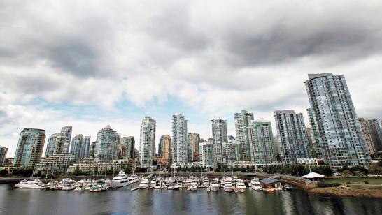有經濟學家評估得出新西蘭和加拿大的房市有崩潰風險,圖為加拿大溫哥華的一處房產。
