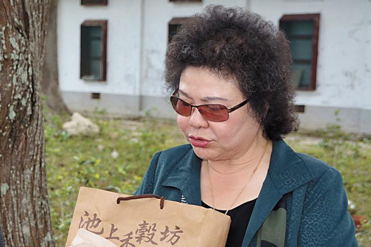 前高雄市長在陳菊(圖)
