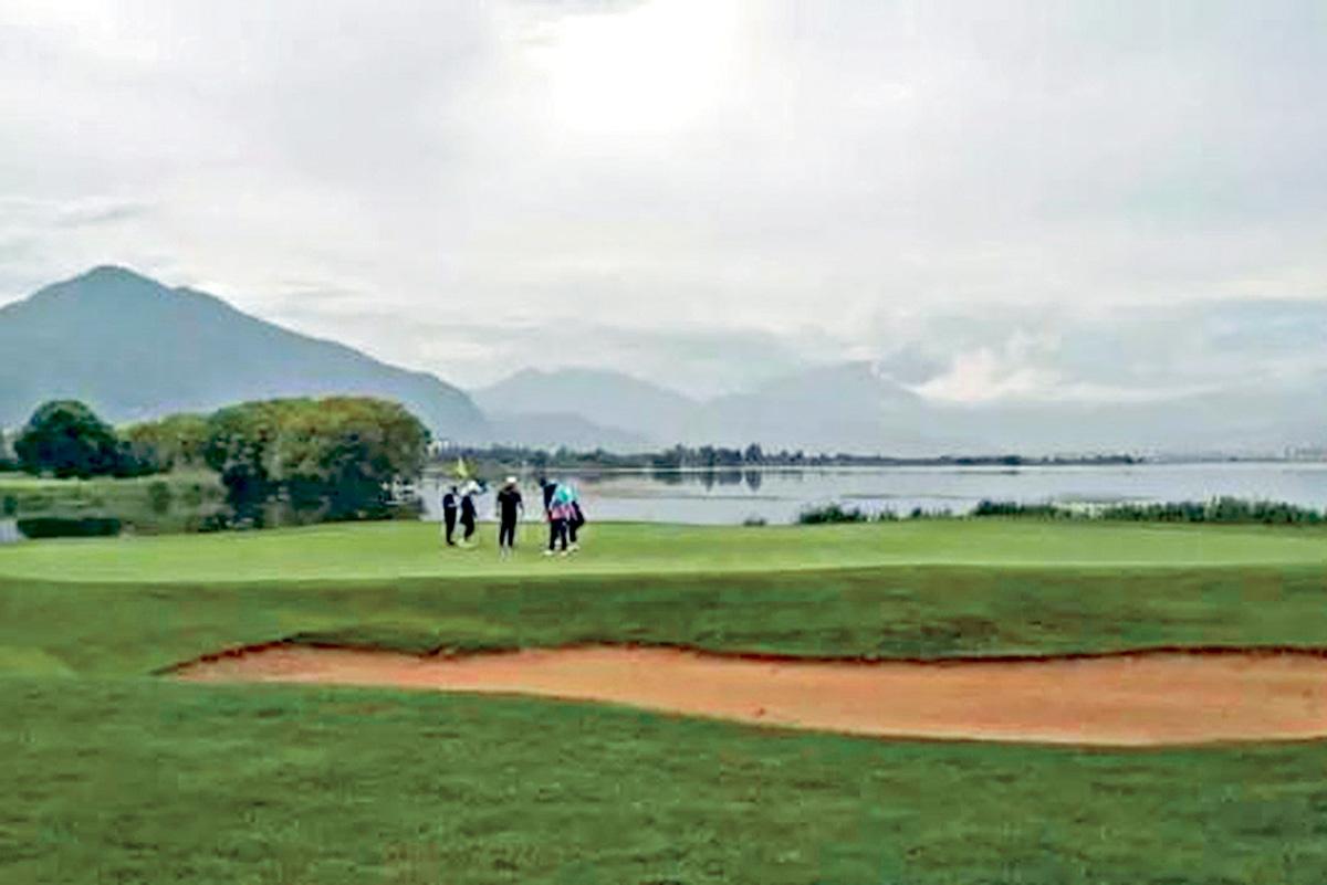 自2011年啓動高球場整治工作,累計取締127個高爾夫球場。網上圖片