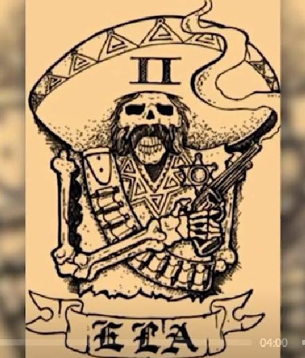 墨西哥土匪幫的紋身。ABC