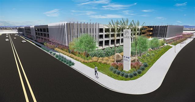 開始建設的多式聯運設施。LAX提供